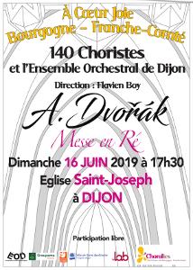 Messe en Ré, Dvorak, 16-06-2019