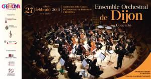 Concert à Cremona 27-09-2016 ensemble orchestral de Dijon