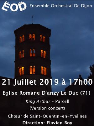Anzy Le Duc (21 juillet)