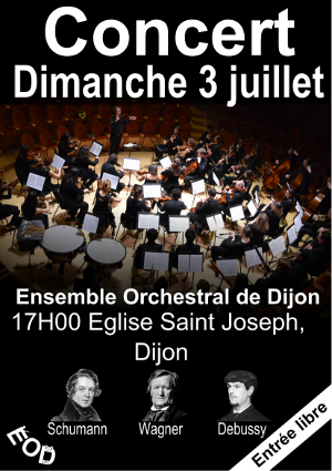 Affiche concert 3 juillet 2016