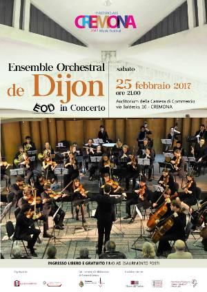 Concert à Crémone en Italie le 25 février 2017