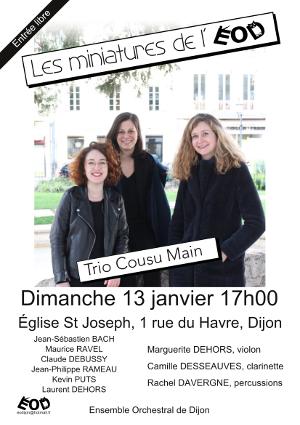 ensemble orchestral de dijon concert 13 janvier2019
