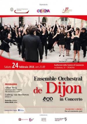 Ensemble orchestral de Dijon 24-02-2018
