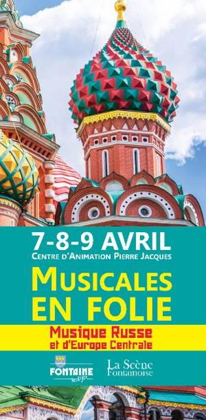 Programme des musicales en folies 2017 Fontaine-lès-Dijon