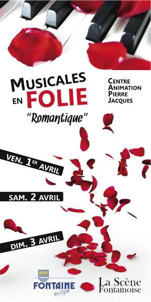 Musicales en Folie 2016 à Fontaine-lès-Dijon