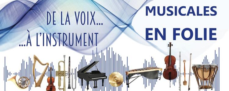 Festival Musicales en Folie du 21 au 22 novembre à Fontaine-lès-Dijon