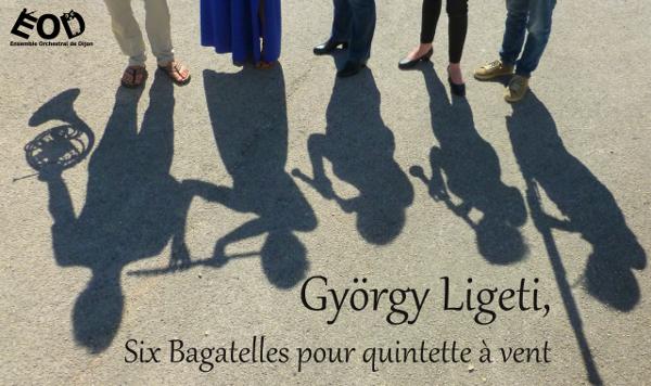 Six Bagatelles pour quintette à vent, Journées Européennes du Patrimoine