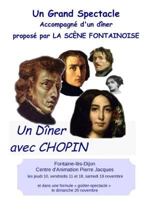 Un diner avec Chopin, novembre 2016